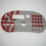 Graphic Overlay with Embossed Keypad