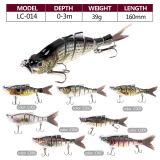 Hard Fishing Multi-Jointed Fishing Lure