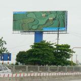 Large Size High Pole Standing Trivision Billboard (F3V-131S)