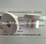 Custom CNC Knurled Aluminum Furniture Hardware Knob for Furniture