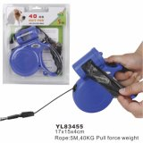 LED Chew Proof Retractable Dog Leash (YL83455)
