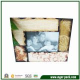 Special Wooden Picture Frame with Leaf Patterns