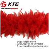 Cheap 40 Gram Weight Dyed Hot Pink Turkey Feathers Plumage Chandelle Boa