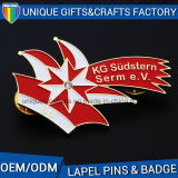 Metal Safety Pin Advertising Promotions Badge