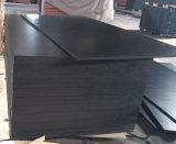 18X1250X2500mm Black Recycle Poplar Core Film Faced Plywood Timber for Construction