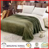 Double Layer Blanket Coral Fleece Wool Terry Loop Df-9918