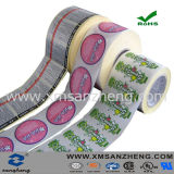 Water Resistant Full Color Asset Number Permanent Semi Glossy Labels