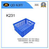 K231 Plastic Basket for Clothing Storage and Turnover