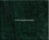 Discount Natural Polished India Green Marble Stone Tile for Floor