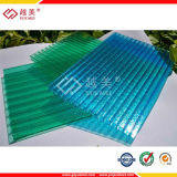 Polycarbonate Crystal Hollow Sheet, Polycarbonate Sun Panel, Plastic Building Material