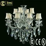Modern Design Europ Style Crystal Chandelier Lamp (AQ01201-8+4)