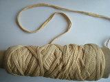 Soybean Protein Fiber Crochet Yarn -Tape Fancy Yarn Nm0.6/1