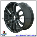 Car Wheels with Hyper Black Coating