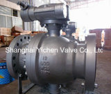 Alloy Steel A217 Wc6 Flanged Ball Valve