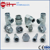 Elbow Straight Metric Male DIN Tee Hydraulic Hose Fitting Hose Adapter