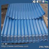 Blue Metal Steel Roof Tile