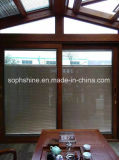 Aluminium Shutters Between Insualted Glass Electronic Control for Window or Door