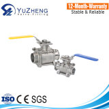 Ball valve with mounting pad