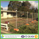 Portable Canada High Standard Galvanized / PVC Coated Temporary Fence