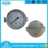4 Inch 100mm Back Type Brass Internals Pressure Gauge