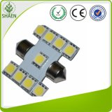 New Design 5050 9SMD T10 LED Festoon Light