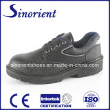 Professional Embossed Leather Safety Shoes RS8009