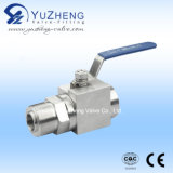 Stainless Steel High Pressure Thread Marine Ball Valve