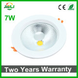 Good Quality 7W AC85-265V Recessed COB Downlight LED