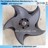 ANSI Durco Mark III CD4 Pump Impeller in Stainless Steel