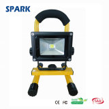 10W Portable Rechargeable Emergency Work Light LED Flood Light