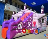 New Design Inflatable Castle Slide Combo