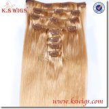 100% Pure Indian Virgin Remy Clip in Hair Extension