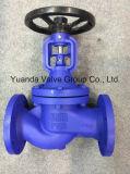 DIN Bellow Sealed Cast Iron Globe Valves Flange end PN16 (WJ41)
