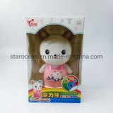 Plastic Gift Box PVC Packaging Product Rabbit Toys Packaging