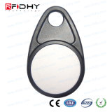 Hot Sell Low Cost Access Control 125kHz or 13.56MHz 14443A Key Tag RFID Keyfob