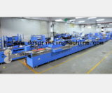 Multicolors Satin Labels Automatic Screen Printing Machine with High Efficiency