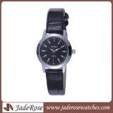Stainless Steel Watch Genuine Lether Watch Japan Movement Quartz Watch
