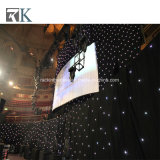 Event Stage Backdrop LED Star Curtain Wedding Party Decorate