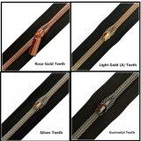Hot Sale Metallic Nylon Zipper