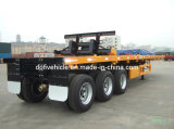 40' Flatbed Semi Trailer with 3 Axles (ZJV9481TJZ)