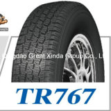 Chinese Best Quality Price Car Tire with White Sidewall (185/75R16C)