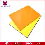 Alucoworld Aluminum Wall Cladding Construction Material Plastic Sheet