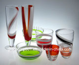 Hand Made Solid Color Shot Glass Glass Bowl Champagne Glass