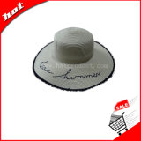 Summer Woman Paper Straw Hat