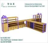 Baby Toy Chest Preschool Wooden Shelve
