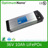 36V 10ah High Power LiFePO4 Battery Pack for Electric Bike