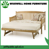 Solid Pine Wood Pull out Sofa Bed for Living Room (WJZ-B81)