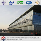 Prefabricated Light Steel Structure Bus Station