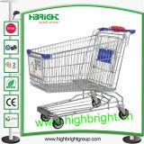 Asian Style Heavy Duty Wire Metal Shopping Trolley