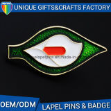 Zinc Alloy Customize Metal Badge with Embossed with Cheap Price